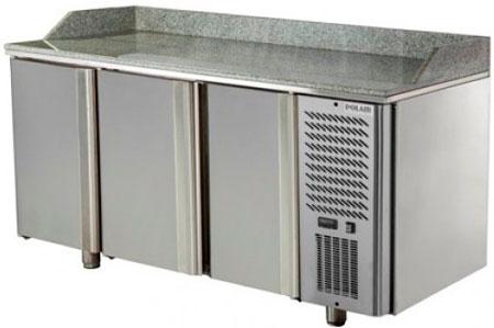 Холодильный стол для пиццы Polair TM3GNpizza-G