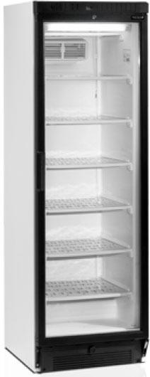 Морозильный шкаф с прозрачной дверцей Tefcold UFSC370G