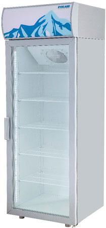 Холодильный шкаф Polair DM105-S версия 2.0 (серый)