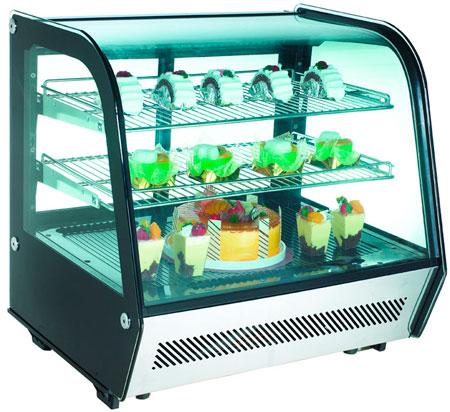 Настольная холодильная витрина Cooleq CW-120