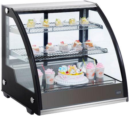 Настольная холодильная витрина Cooleq CW-130