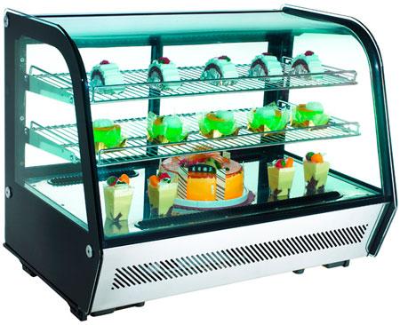 Настольная холодильная витрина Cooleq CW-160