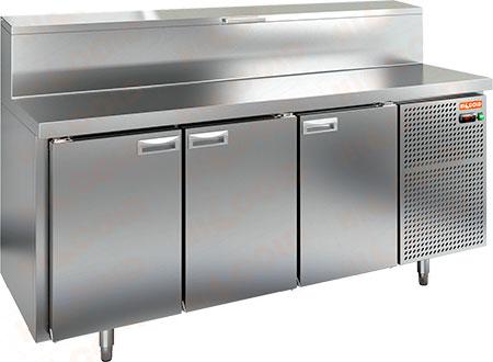 Холодильный стол для пиццы Hicold PZ2-111/GN (1/6H)