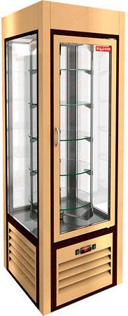 Вертикальная кондитерская витрина Hicold VRC 350 R Sh Be