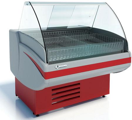 Низкотемпературная витрина Cryspi Gamma-2 М 1200
