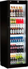 Холодильный шкаф черного цвета Liebherr FKv 4113-744 Black