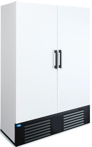 Двухдверный морозильный шкаф Марихолодмаш Капри 1,12Н