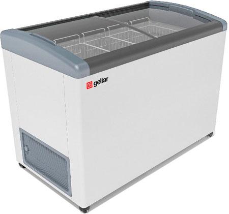 Морозильный ларь с наклонными гнутыми стеклами Frostor GELLAR FG 400 E