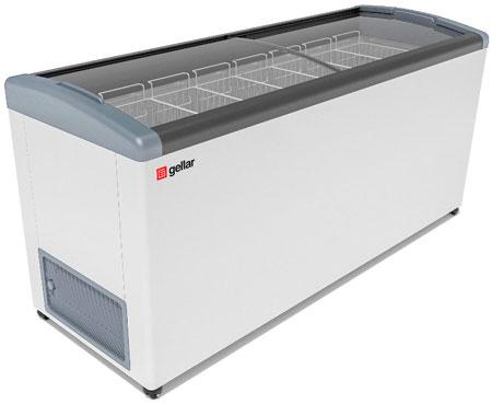 Морозильный ларь с наклонными гнутыми стеклами Frostor GELLAR FG 700 E