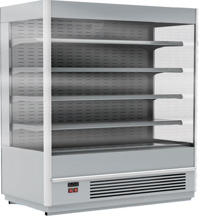 Пристенная холодильная витрина Carboma Cube 1930/710 ВХСп-2,5