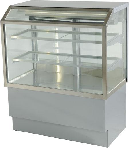 Холодильная витрина Элка Волхонка 1,00 Хром
