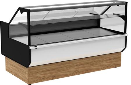 Холодильная витрина Carboma ВХС-1,8 GC95 (GC95 SM 1,8-1 KombiLux / INOX)