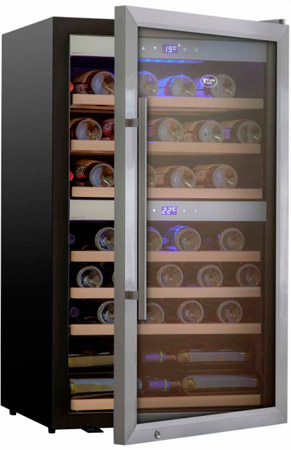 Винный холодильник Cold Vine C66-KSF2