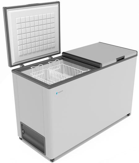 Морозильный ларь с двумя крышками Frostor F 500 SD