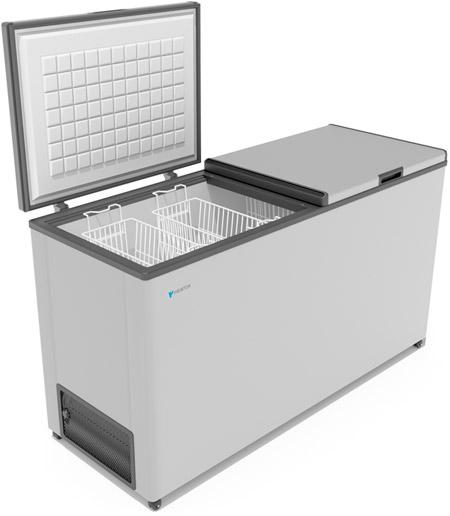 Морозильный ларь с двумя крышками Frostor F 600 SD