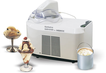 Автоматическая компрессорная мороженица Nemox Gelato Grand Clear