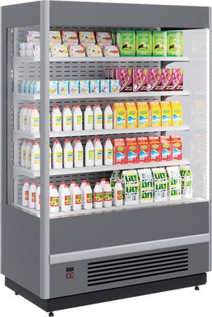 Холодильная горка Polair CUBE 1250-07 M Plug-In