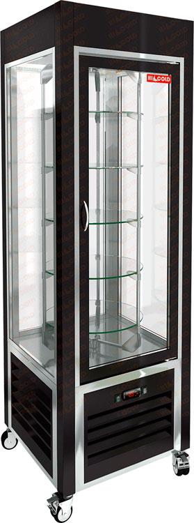 Вертикальная кондитерская витрина Hicold VRC 350 R Black FR