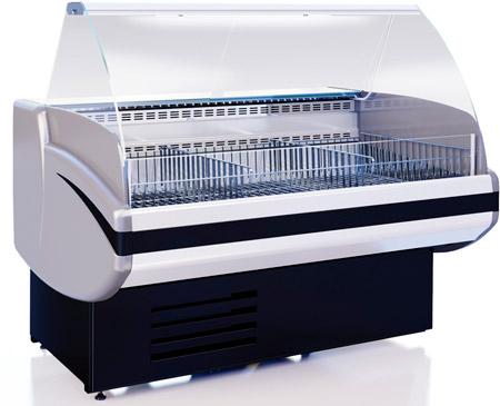 Низкотемпературная витрина Cryspi Gamma-2 М 1800 (RAL 7016)