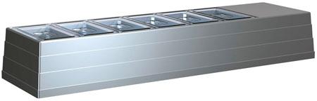 Настольная холодильная витрина Полюс ВХС-1,4 Арго Fast food