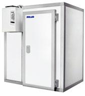 Холодильная камера с моноблоком Polair КХН-2.9 м3 и МВ 108 SF